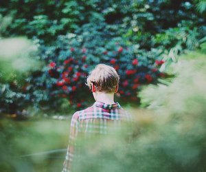 boy, vintage, and nature image