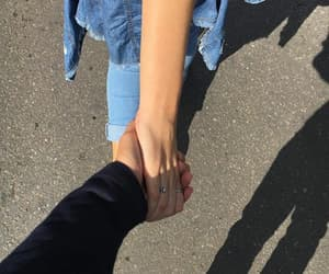 couple, hands, and tumblr image