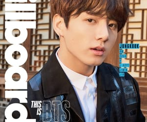 bts, jungkook, and billboard image