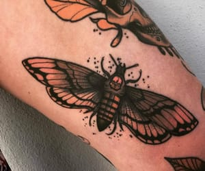moth and tattoo image