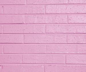 pink, wall, and wallpaper image