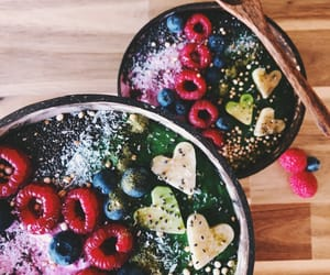 bowl, food, and healthy image