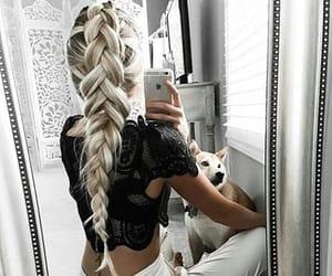 fashion, hair, and moda image