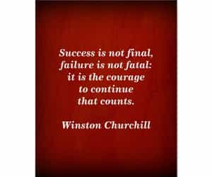 churchill, inspirational, and quotes image