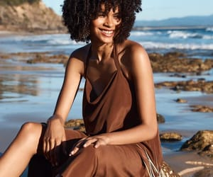 curly hair, natural hair, and black girls image