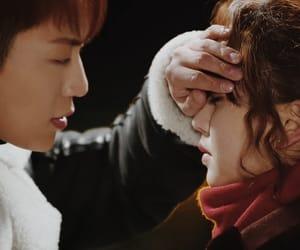 caps, kiss, and Korean Drama image