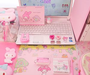 aesthetic, pink, and computer image