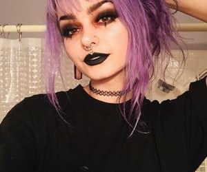 alternative, nu goth, and pastel goth image