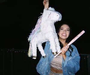 girl, unicorn, and claudia sulewski image