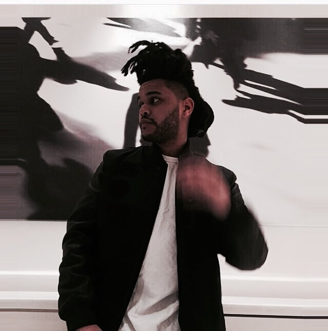 the weeknd, abel, and xo image
