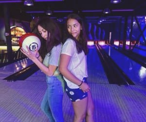 bff, bowling, and friendship image