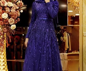dress, hijab, and lovely image