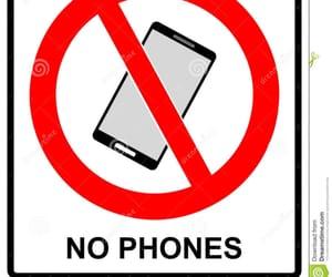 no, phone, and no phone image