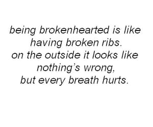 quotes, hurt, and broken image