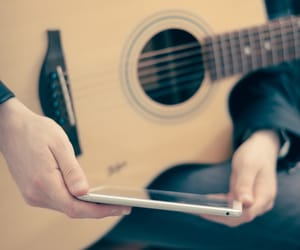 guitare, guitariste, and musique image
