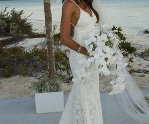 beach wedding dresss image