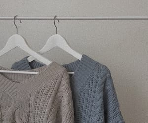 blue and sweater image