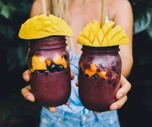 summer, food, and healthy image