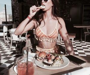 food, girl, and beauty image