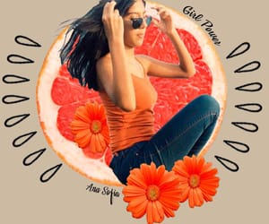 amazing, orange, and photography image