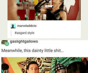 funny, Marvel, and movie image