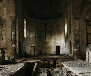abandoned, church, and photography image
