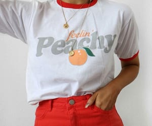 clothes, fashion, and fruit image