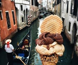 ice cream, food, and venice image