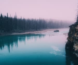 aesthetic, nature, and river image