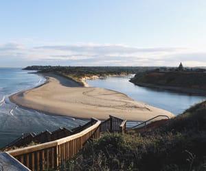 beach, sea, and blue image