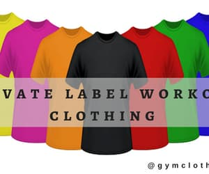 private label gym clothes and private label gym wear image