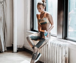 fitness, workout, and style image