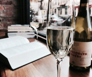 wine and book image