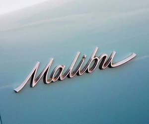 malibu, blue, and car image