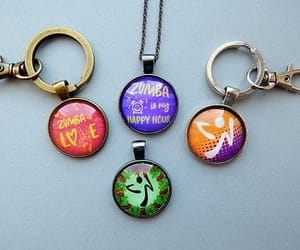 etsy, dancing jewelry, and zumba pendant image