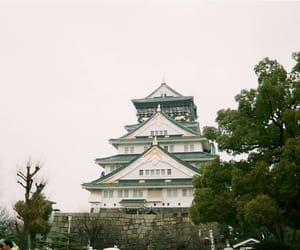 japan, filmcamera, and osaka castle image