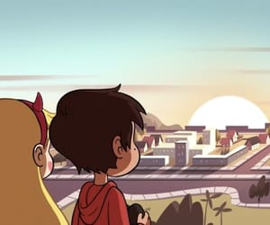 sunset, marco diaz, and starco image