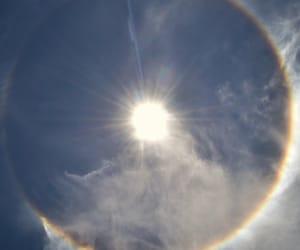 halo, rainbow, and sky image