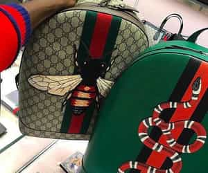 gucci, backpack, and bag image