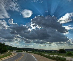 canon, Texas, and clouds image