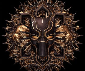 black panther, Marvel, and wallpaper image