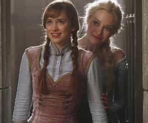 once upon a time, elsa, and anna image