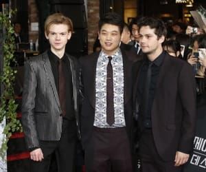 ki hong lee, maze runner, and dylan o'brien image