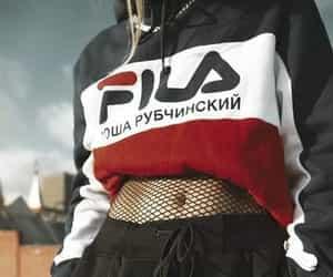 fashion, style, and Fila image