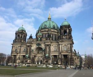 alemania, ciudad, and berlin image