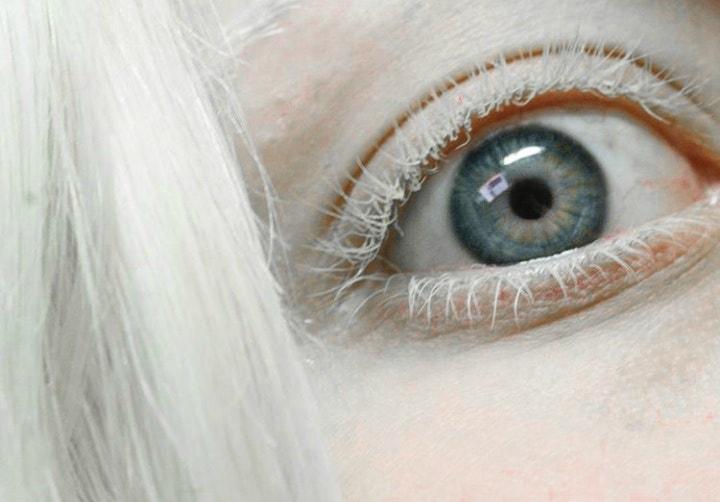 beauty, eyelashes, and fashion image