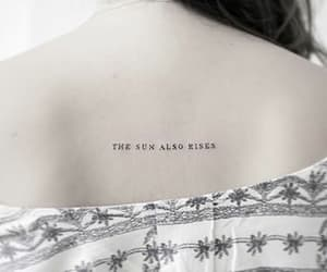 tattoo, rise, and small image