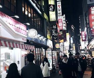 kfashion, korea, and nightlife image