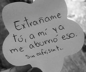 frases, extrañar, and citas image