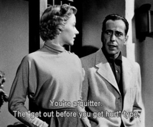 movie, quitter, and black and white image